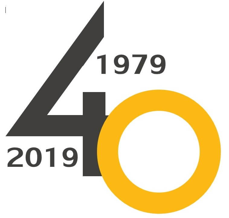 40th birthday logo